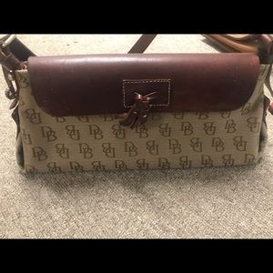 Dooney  & Bourke medium flap tassel purse